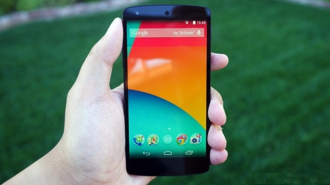 Google-Nexus-5-black
