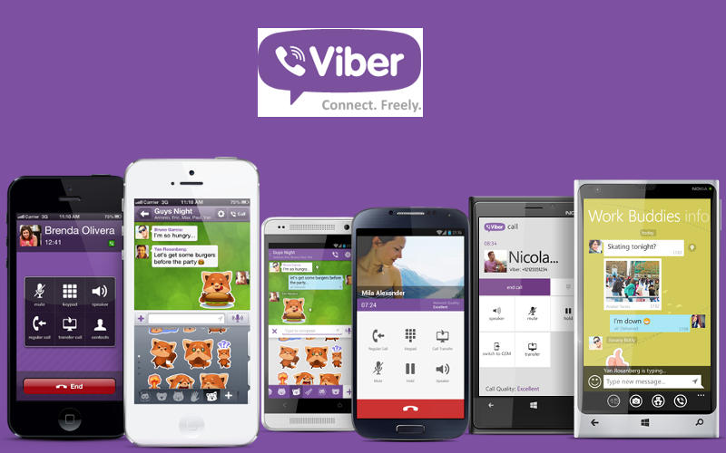 Viber-Connect-Freely