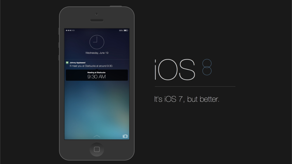 iOS 8 rumor