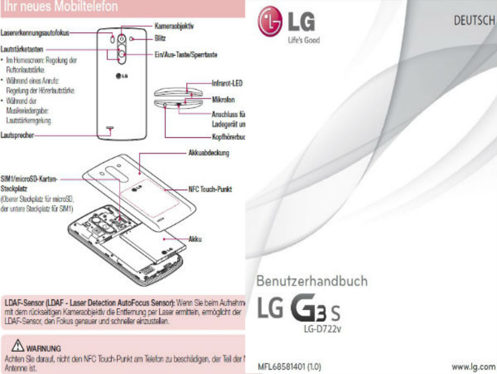 lg g3 user manual