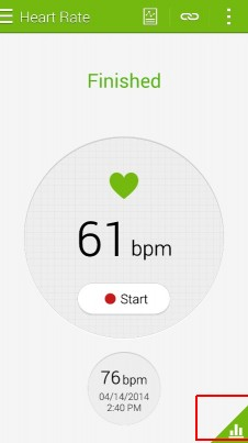 How to monitor Heart rate on S5