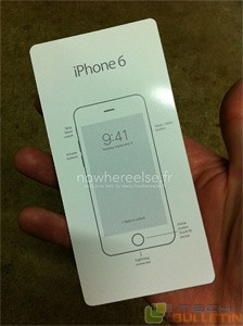 leaked manual of iPhone 6