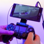 Sony Xperia Z3 with PS console