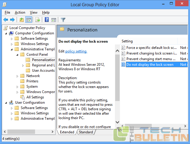 disable-lock-screen-group-policy