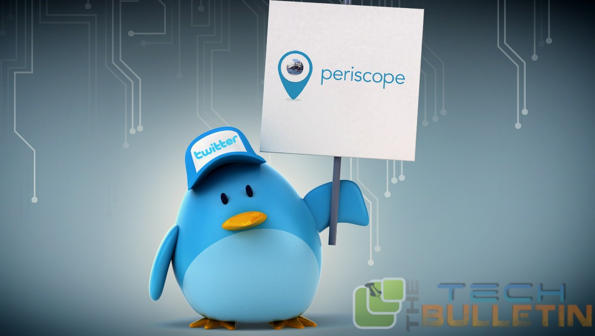 Twitter acquired periscope