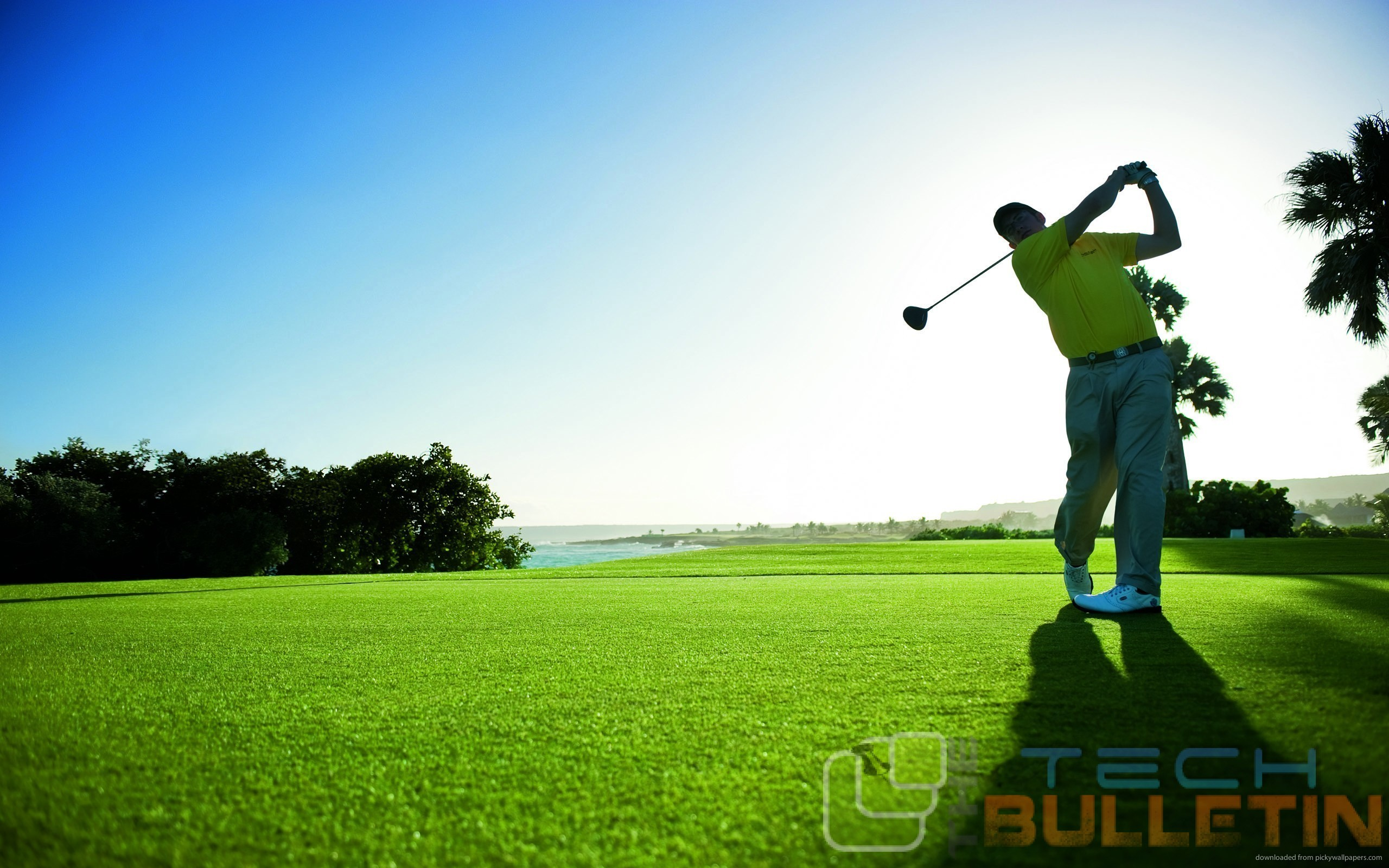 wallpapers-golf-man-hits-the-ball