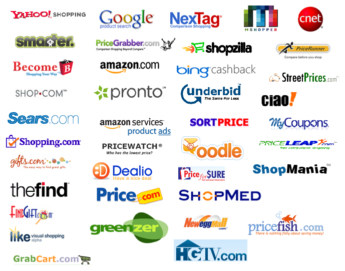 Best online shopping comparison websites the tech bulletin for Best websites to online shop